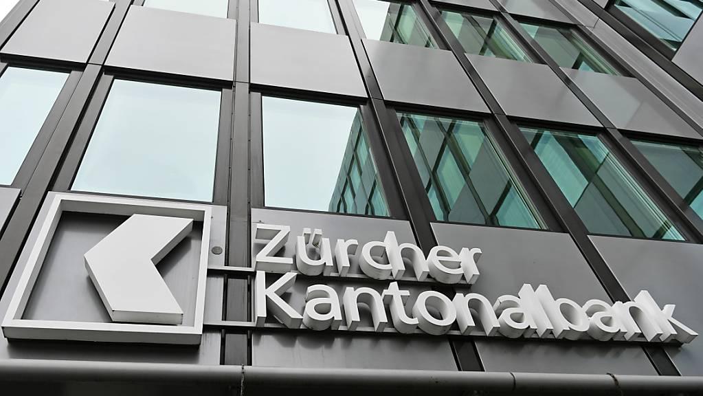 Die Zürcher Kantonalbank geniesst am Markt ein hohes Vertrauen. Die ZKB konnte im ersten Halbjahr 2021 neue Kundengelder im Umfang von knapp 12 Milliarden Franken einsammeln.(Archivbild)