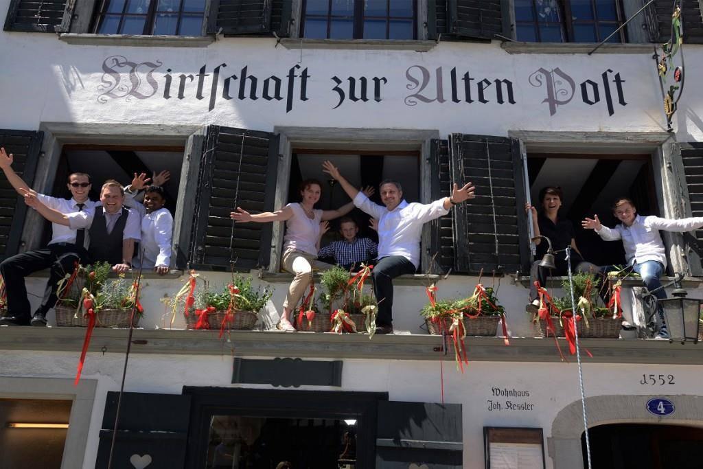 Die Alte Post ist gemäss «NY Post» ein typisches Schweizer Restaurant. (© apost.ch)