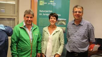 Ursula Philipps und André Stapfer sind neu im Jurapark-Vorstand.