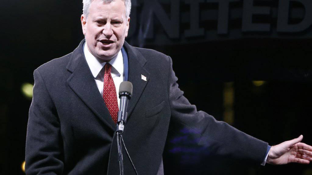 Der New Yorker Bürgermeister Bill de Blasio hat eine grossangelegte Lese-Kampagne angezettelt: Ganz New York diskutiert ein ausgewähltes Buch. (Archivbild)