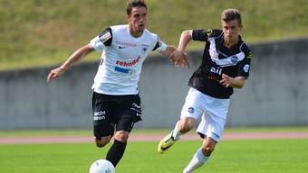 FC Aarau im Testspiel gegen Lugano