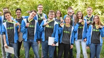 Biologie-Olympiade Gewinner 25.04.17