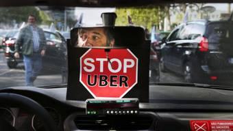 Ein Taxi-Fahrer und sein Protest gegen Uber Weltweit wächst der Ärger über das Geschäftsmodell der Kalifornier.