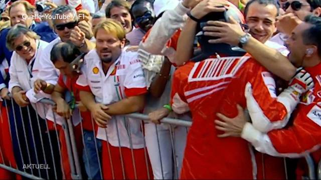 Kimi Räikkönen fährt künftig wieder für Sauber