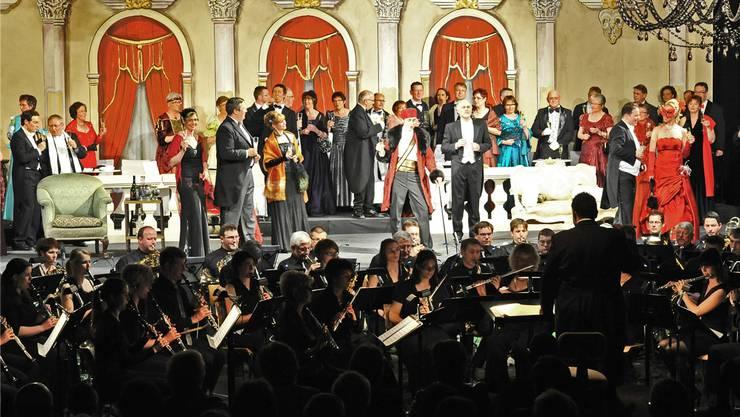 Nach der Aufführung von der «Fledermaus» wagt sich die «Konkordia» Egerkingen an das Musical «Kiss me Kate».