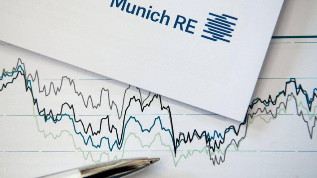 «Munich Re ist auf einem guten Weg, das gesetzte Gewinnziel für 2017 in Höhe von 2,0 bis 2,4 Milliarden Euro zu erreichen», sagte der neue Konzernchef Joachim Wenning. (Archiv)