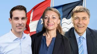 Thierry Burkart will für die FDP in den Ständerat, Yvonne Feri für die SP in den Regierungsrat und Luzi Stamm kandidiert für den Nationalrat auf einer eigenen Liste.