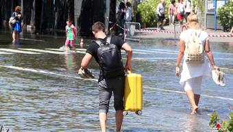 Sturmflut in Italien