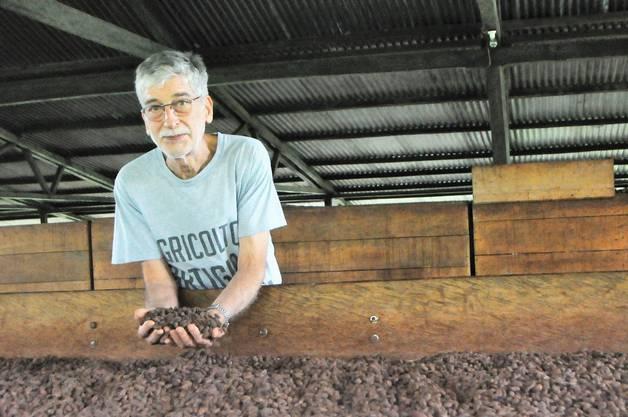 Claudio Corallo führt auf Sao Tomé und Principe Plantagen - und kreiert erstklassige Schokolade.