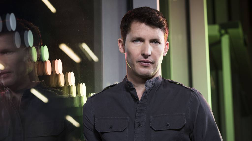 James Blunt singt am «Art On Ice»
