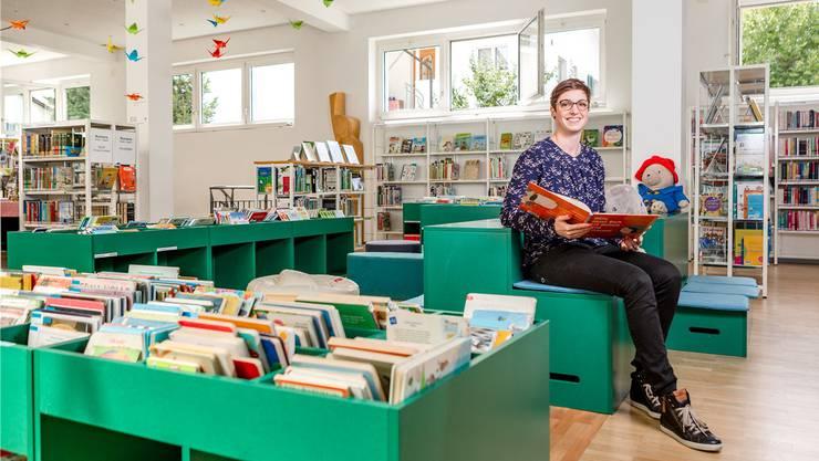 «Wir gehen auf die veränderten Kundenbedürfnisse ein», sagt Bibliotheksleiterin Susanne Keller. Bild: Sandra Ardizzone