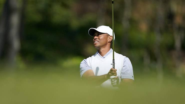 Tiger Woods muss wieder einmal leiden
