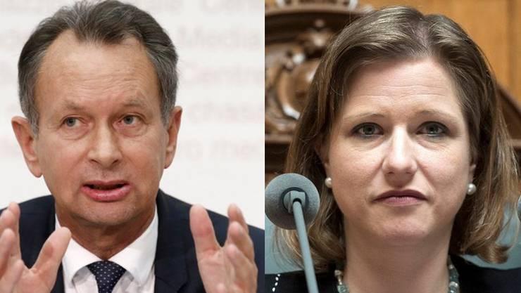 Für Müller steht fest: Die Partei, die zuletzt im Aufwind war, habe durch die Lobbying-Affäre um Christa Markwalder bereits «klar Schaden genommen».