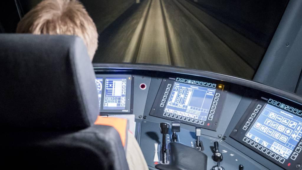 Rund 340 Lokführerinnen und Lokführer ab Herbst in Ausbildung