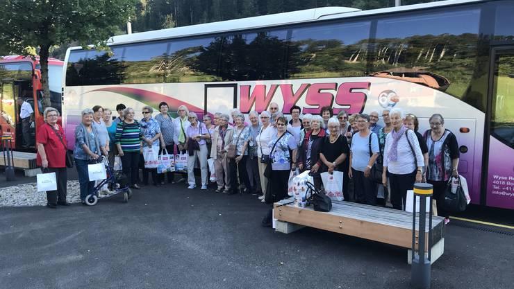 Die Senioren genossen die Reise ins Emmental.