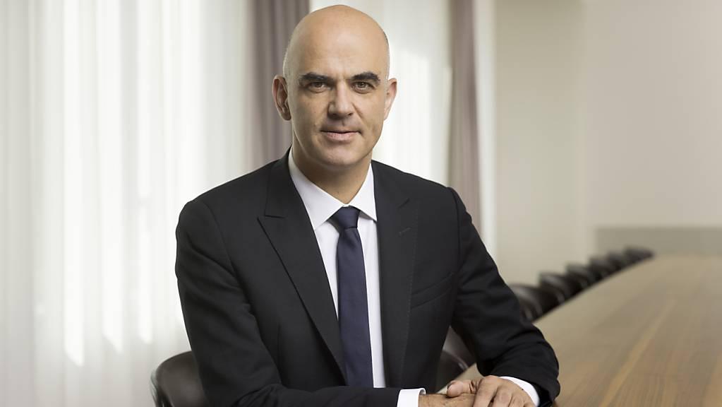 Opfer eines Erpressungsversuchs: Bundesrat und Gesundheitsminister Alain Berset. (Archivbild)