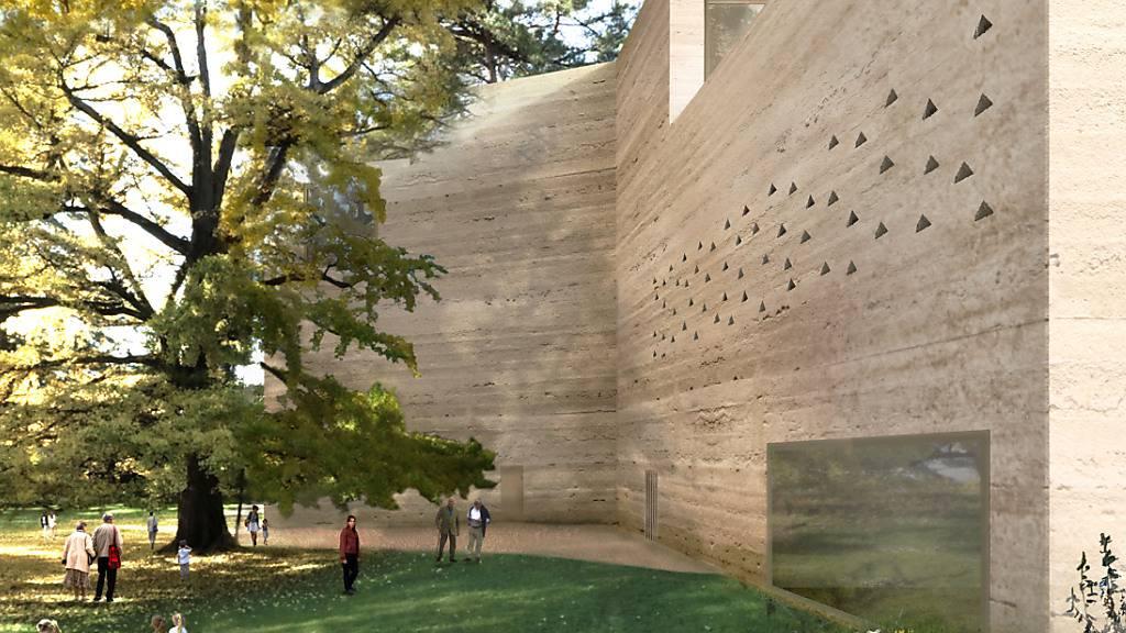 Zur Erweiterung gehört ein neuer Museumsbau mit 1500 Quadratmetern Ausstellungsfläche.