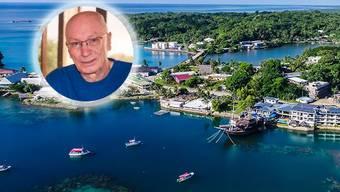 Freddy Gull, einziger Schweizer im Mikrostaat Mikronesien