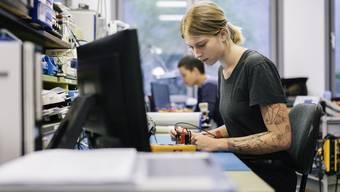 Auch junge Arbeitnehmer haben derzeit kaum Mühe, eine Stelle zu finden. Die Jugendarbeitslo- senquote betrug 2018 lediglich 2,4 Prozent.