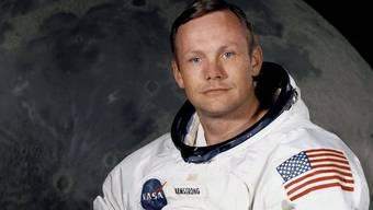 Neil Armstrong: Die Familie und Freunde nahmen mit einer stillen Trauerfeier Abschied von ihm (Archiv)