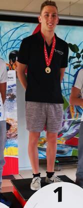 Federico Salghetti wird Schweizer Meister über 5km.