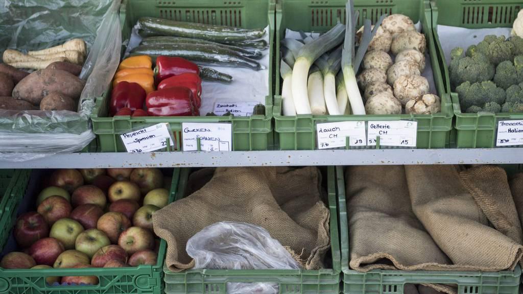 Der Dieb war nicht auf frisches Gemüse, sondern Bargeld aus.