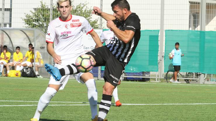 Besiegelte den Kantersieg von Black Star mit insgesamt vier Treffern und einem Hattrick innerhalb von 6 Minuten: Mickaël Rodriguez