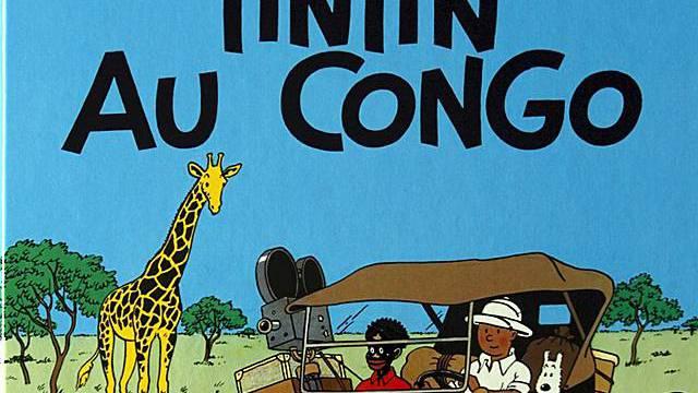 "Rassistischer Hergé-Comic ""Tim im Kongo"""