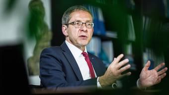 Urs Hofmann: «Unser Interesse ist klar, dass die ABB diesen Bereich als stabile Unternehmung selber weiter führt.»