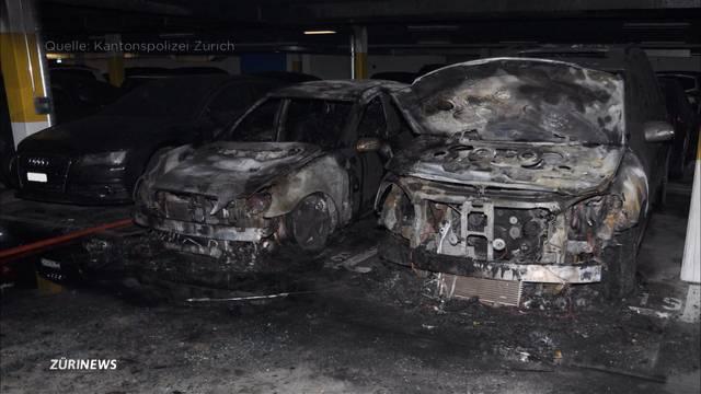 Grosser Sachschaden bei Tiefgaragenbrand