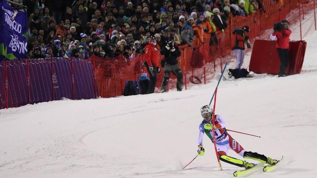Daniel Yule ist in Madonna di Campiglio auf Platz 1 gefahren.