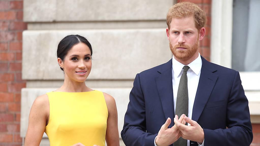 ARCHIV - Prinz Harry von Großbritannien und seine Frau Herzogin Meghan. Foto: Yui Mok/PA Wire/dpa