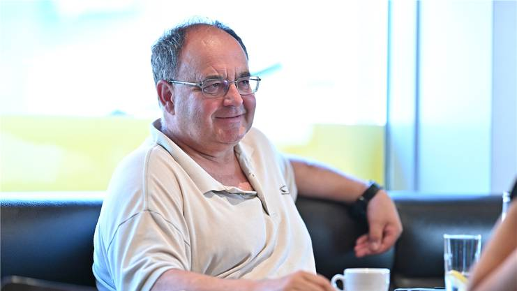 FCS-Trainer Jürg Widmer.
