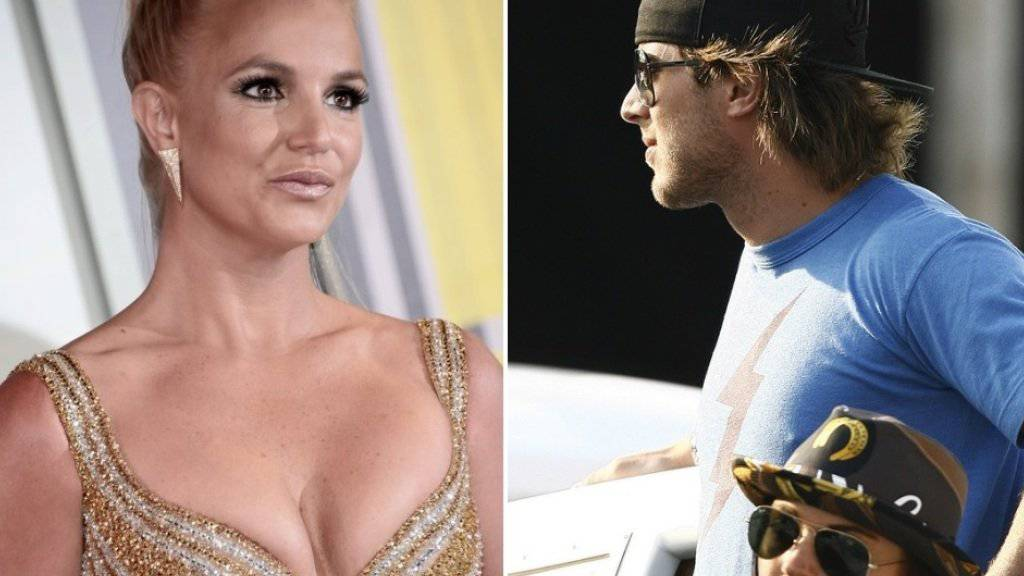 Taco-König Harry Morton - rechts mit Lindsay Lohan - soll jetzt Britney Spears (links) daten (Archiv).