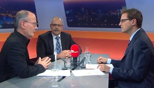 Talk Täglich mit az-Chefredaktor Christian Dorer und den Abgewählten Max Chopard (SP Aargau) und Urs Schläfli (CVP Solothurn).