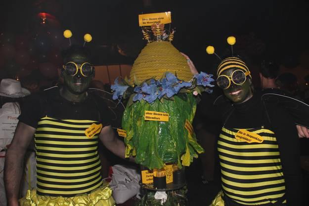 Oberrohrdorf - die beiden Aufklärungsbienen