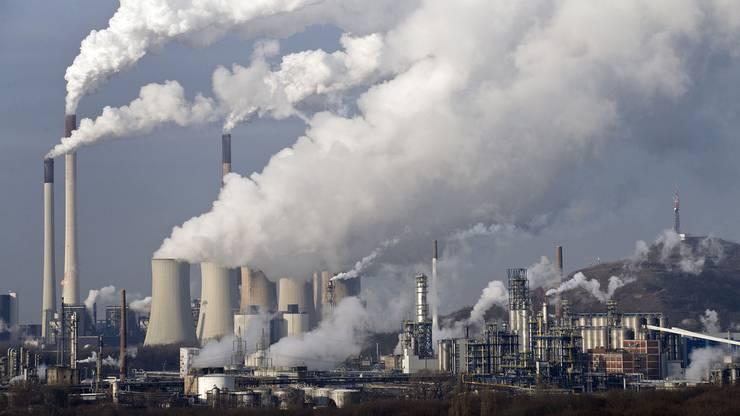Dreckig und dreckbillig: Kohlekraftwerk in Gelsenkirchen im Ruhrgebiet.