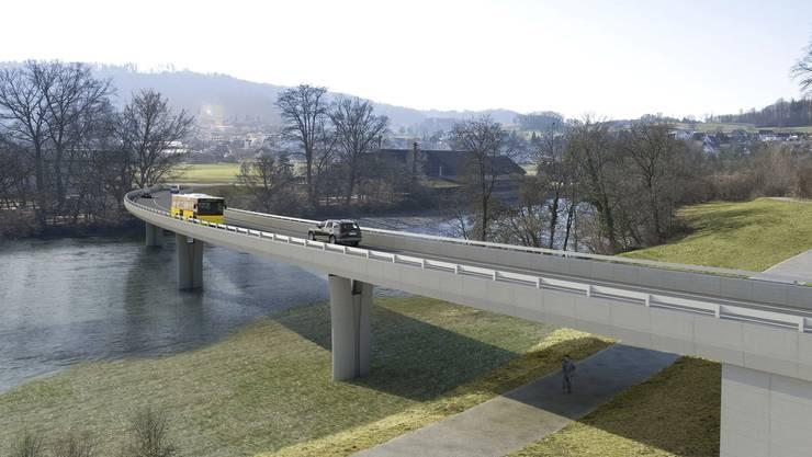 In der Ausschreibung des Kantons wird der 1. Juni 2020 als Startschuss für den Bau der Umfahrung genannt.