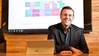 Andreas Wiebe, CEO der Hulbee AG in Egnach zu der auch Swisscows mit Teleguard gehört.