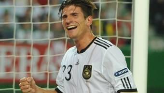 Mario Gomez war der Matchwinner für Deutschland.