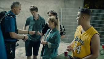Ausschnitt aus dem Film «Polizeikontrolle – und jetzt?».