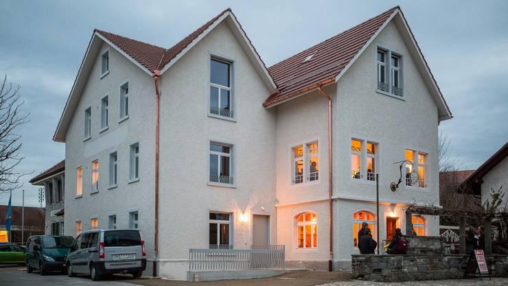 """Eröffnung des Restaurants """"Weisser Wind"""" in Freienwil."""