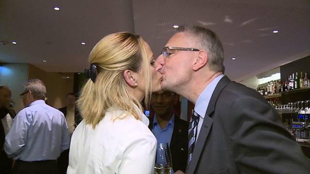 """Ein Küsschen für Andreas Glarner: """"Ich habe eine 'Schiissfreud' - aber dieses Amt ist auch eine Bürde."""""""