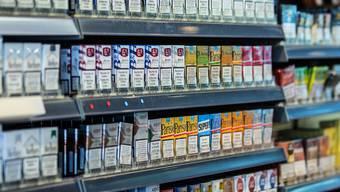 Beim Einbruch wurden nur Zigaretten gestohlen. (Symbolbild)
