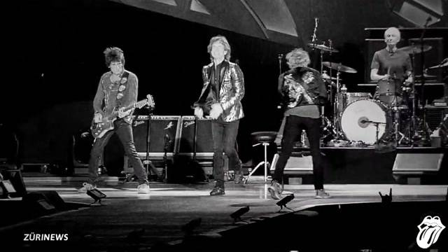 The Rolling Stones rocken Zürich