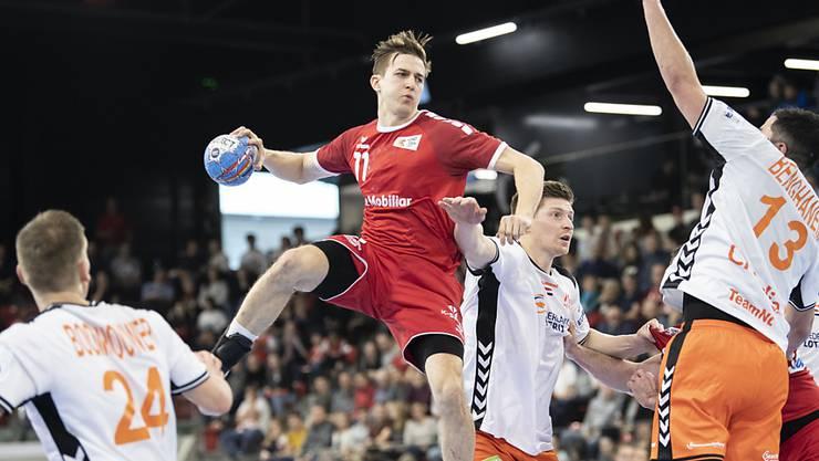 Roman Sidorowicz und der Schweizer Nationalmannschaft gelang die Hauptprobe für die EM-Spiele in Göteborg