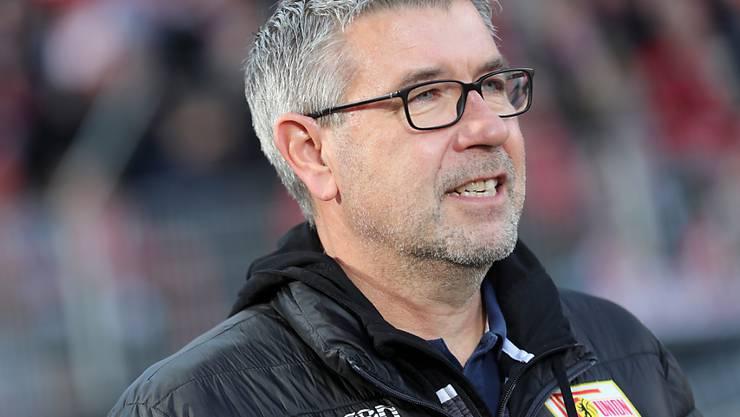 Mit Union Berlin auch auswärtsstark: Trainer Urs Fischer