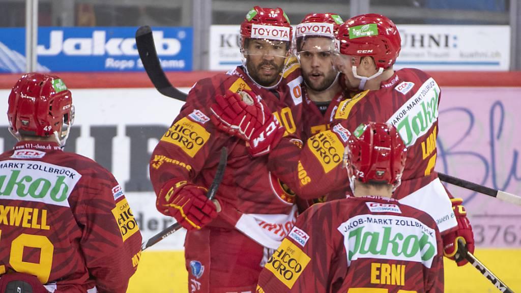 Die SCL Tigers besiegen Ambri-Piotta nach Rückstand mit 4:3 und beenden ihre Niederlagenserie.