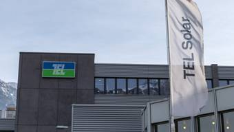 Die Firma Tel Solar im Trübbach im St. Galler Rheintal