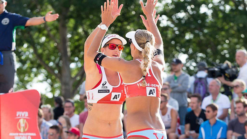 Joana Heidrich  und Anouk Verge-Depre sind für die World-Tour-Finals qualifiziert